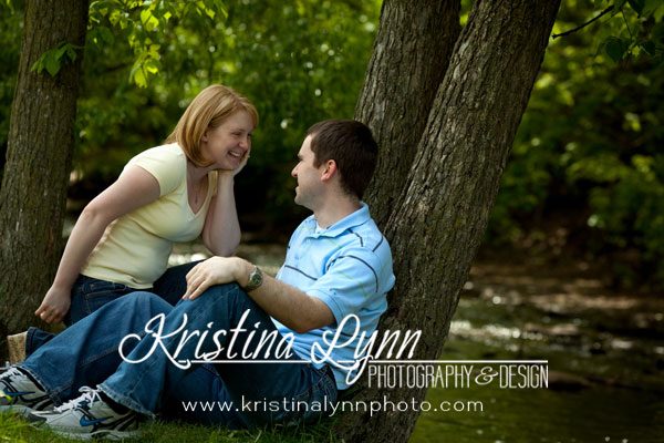Twin Cities Engagement Portrait Session on location