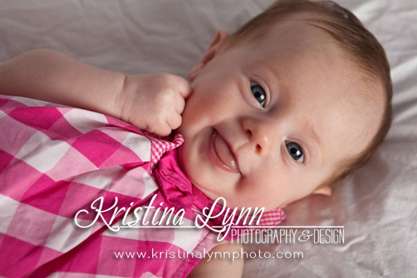 3 month child portrait photography on location Stillwater Minnesota Clarion Iowa