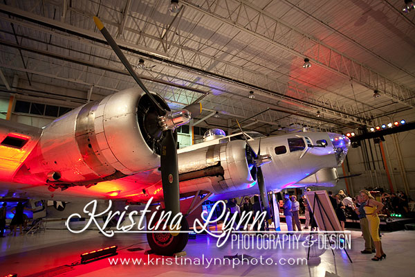 Aluminum Overcast Wings Over the Rockies Museum B17 event Denver Photographer Kristina Lynn Photography & Design