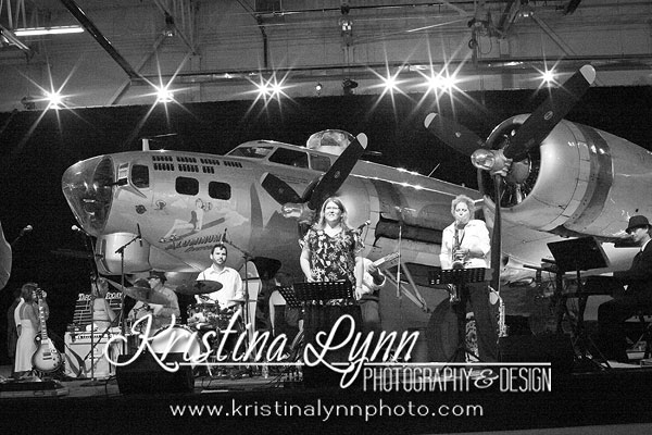 Bands at Wings Over the Rockies Museum B17 event Denver Photographer Kristina Lynn Photography & Design