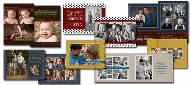 custom designed christmas cards by Kristina Lynn Photography & Design based in Denver, CO