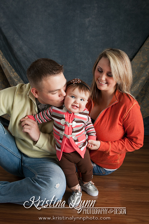 Denver based portrait photographer Kristina Lynn Photography & Design photographs a family before deployment.