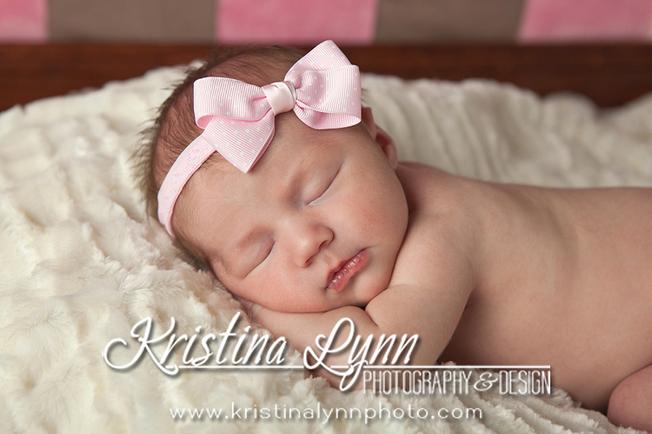 Newborn photo session with Denver photographer Kristina Lynn Photography & Design