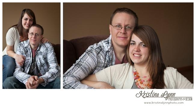 Farm wedding engagement session by Denver Photographer Kristina Lynn Photography & Design