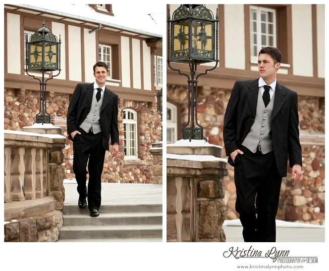 A model session by Denver photographer Kristina Lynn Photography & Design at the Highlands Ranch Mansion