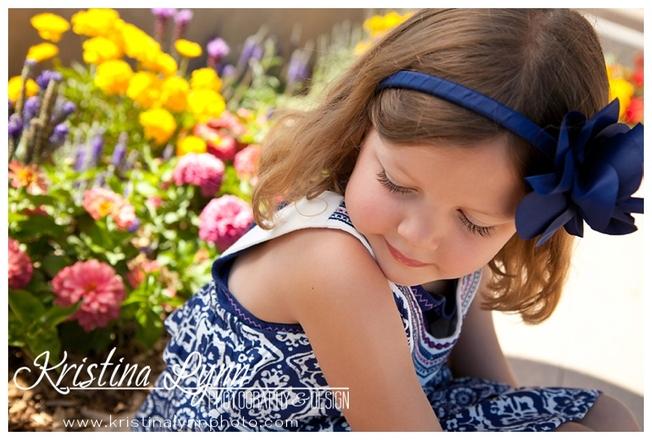 Colorado kids portrait photography session by Lone Tree photographer Kristina Lynn Photography & Design.