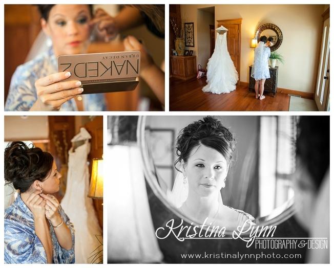 Denver wedding photographer, Kristina Lynn Photography & Design, shares beautiful wedding photography from a recent Iowa wedding.
