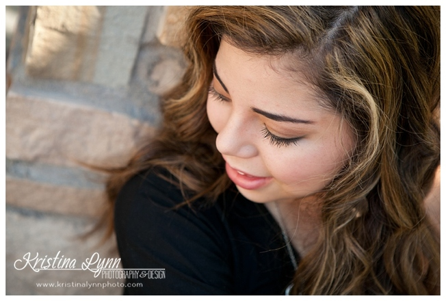 A high school senior photography session with Denver, CO photographer Kristina Lynn Photography & Design.