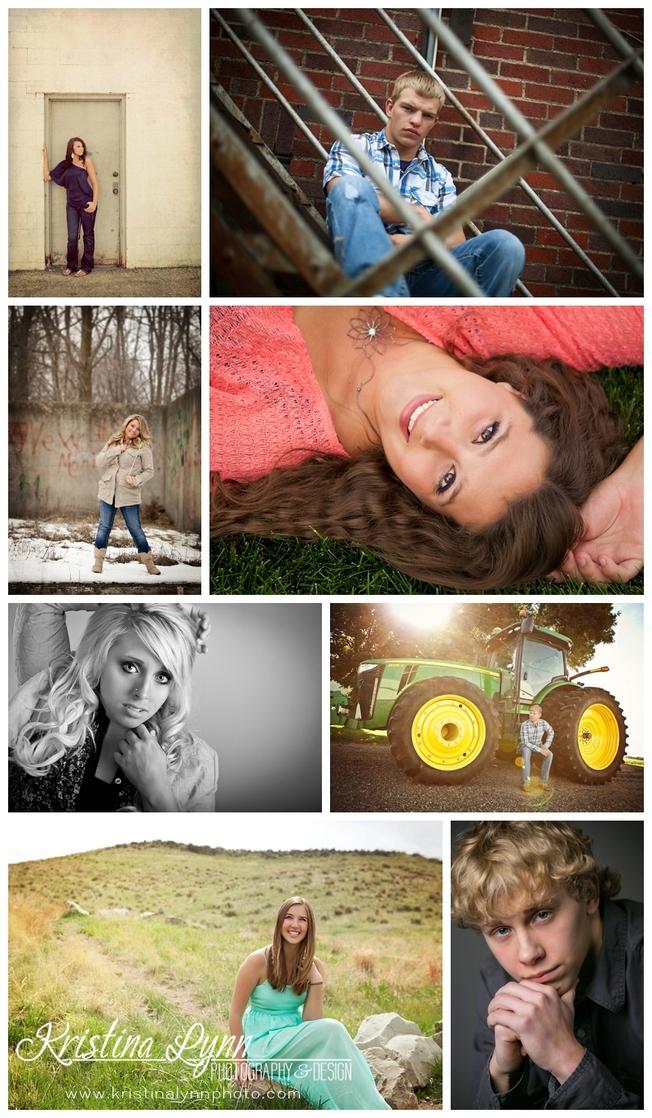 Denver Colorado high school senior photos by Kristina Lynn Photography & Design.