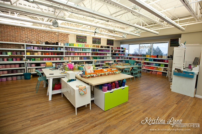 Fleuriste Craft Supplies photographed by Denver photographer Kristina Lynn Photography & Design