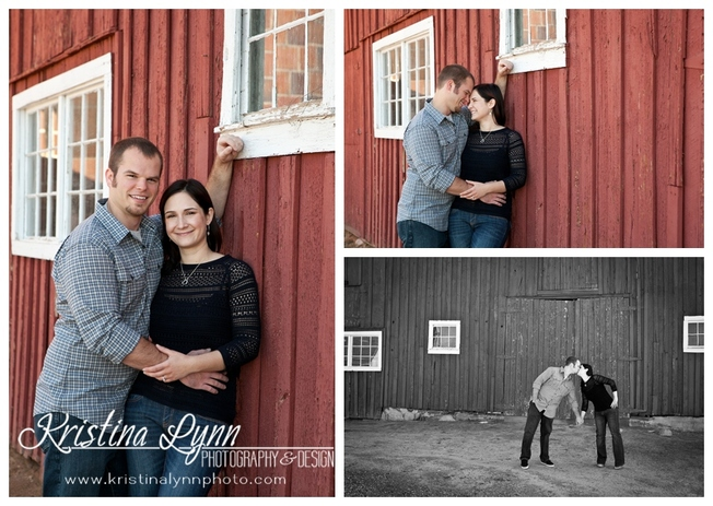 An outdoor engagement photography shoot by Denver wedding photographer Kristina Lynn Photography & Design.