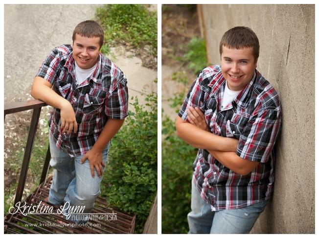 An urban high school senior photo session with Denver photographer Kristina Lynn Photography & Design.