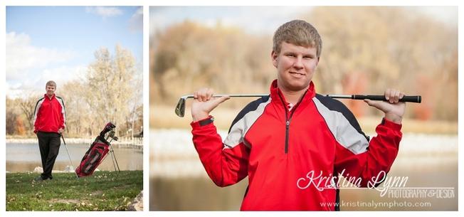 An outdoor high school senior photo session by Denver photographer Kristina Lynn Photography & Design.