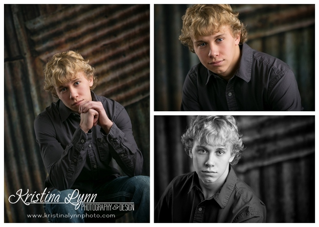 Actor head shots session by Denver photographer Kristina Lynn Photography & Design.