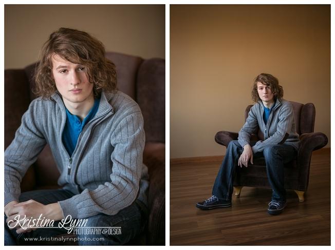A high school senior photo shoot with Denver photographer Kristina Lynn Photography & Design.