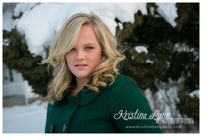 A high school senior photography session with Denver photographer Kristina Lynn Photography & Design