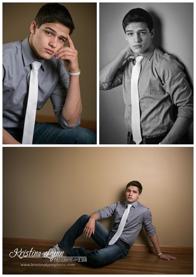 A high school senior photography session with Denver photographer Kristina Lynn Photography & Design