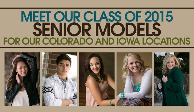 Denver photographer Kristina Lynn Photography & Design announces their Class of 2015 senior spokesmodels.