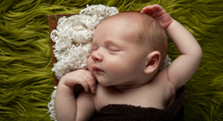Newborn baby client shares the love for Denver, Colorado portrait photographer Kristina Lynn Photography & Design.