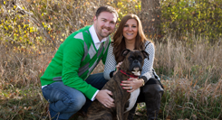 Family portrait client shares the love for Denver, Colorado portrait photographer Kristina Lynn Photography & Design.
