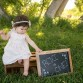 One year old outdoor kids photo session by Littleton photographer Kristina Lynn Photography & Design
