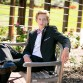 Hudson Gardens senior guy photo shoot with Littleton photographer Kristina Lynn Photography & Design