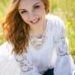 Natural light outdoor high school senior girl photo shoot with Highlands Ranch photographer Kristina Lynn Photography & Design