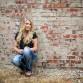 Urban downtown high school senior girl photo by Denver photographer Kristina Lynn Photography & Design