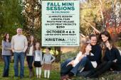 Fall family mini photo sessions in Denver, Colorado