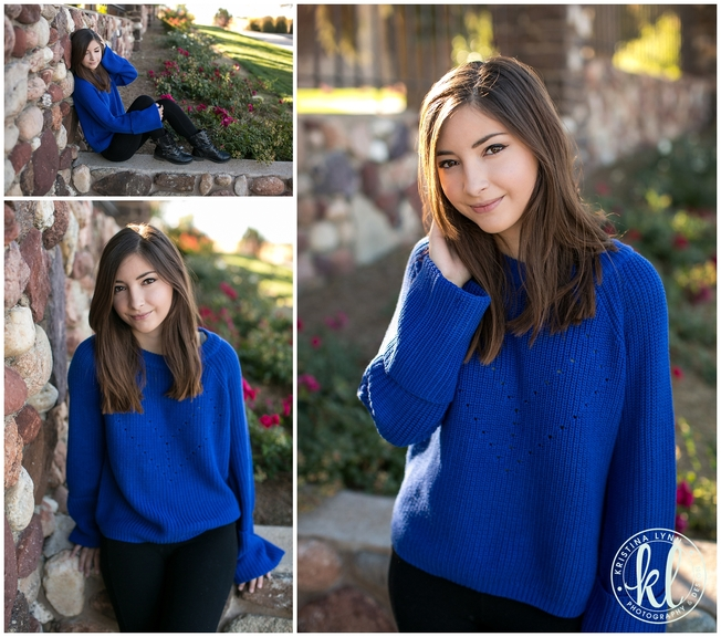 Chunky oversized sweaters are a staple fall fashion for 2015. Photographed by Kristina Lynn Photography & Design