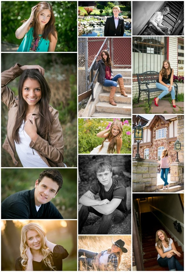 A look back at my fashion forward seniors of 2015 | Denver photographer Kristina Lynn Photography & Design