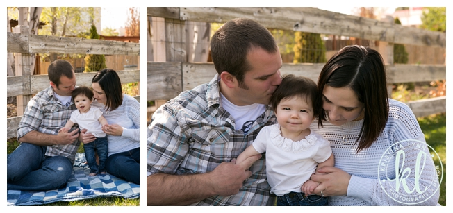 Eight month old kids photo session with Denver Colorado photographer Kristina Lynn