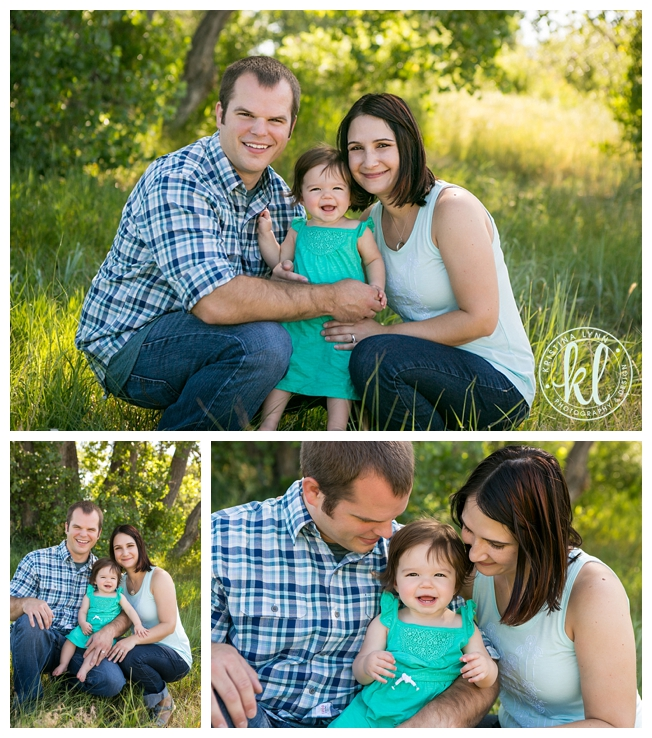 One year old kids photo session with Denver Colorado photographer Kristina Lynn