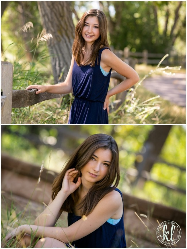 Teen girl photographed at a nature center in Littleton Colorado | Image by Kristina Lynn Photography & Design.