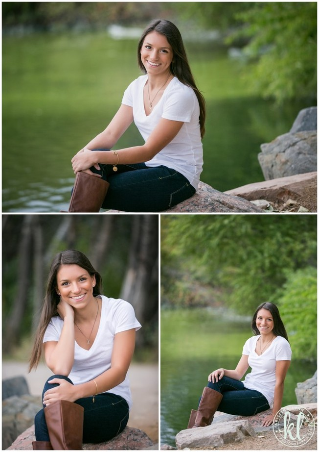 This park location was the perfect setting for this teen girl