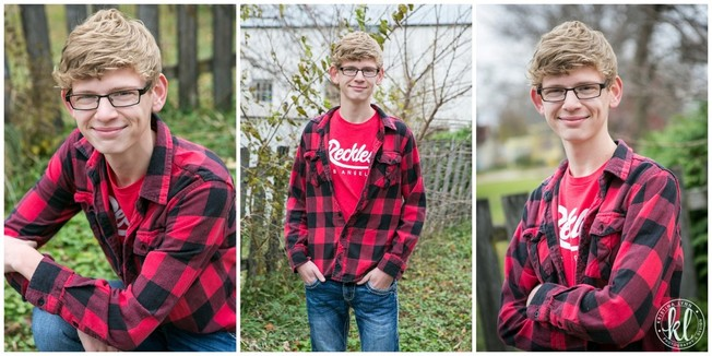 Plaid is a huge fashion trend not only for girls but for guys as well. | Image by Kristina Lynn Photography & Design