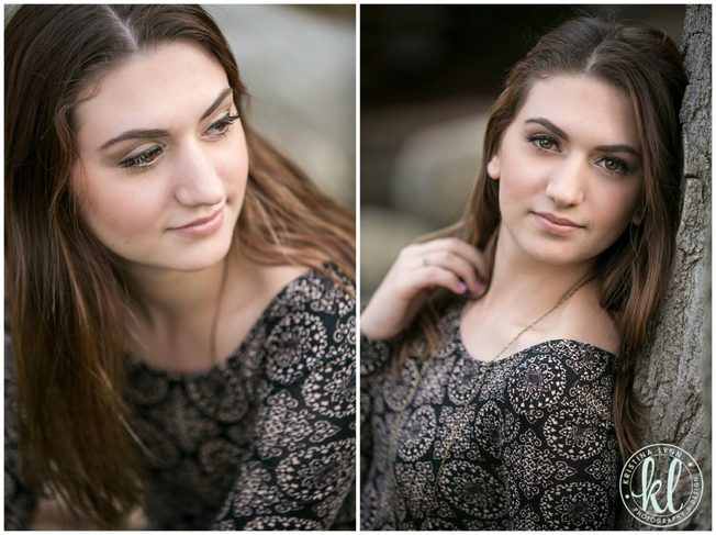 Beautiful portraits of a high school senior girl during her senior photos shoot in Colorado.