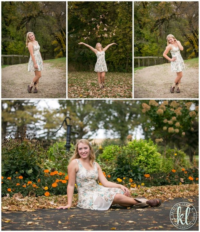 Fall colors for senior photo sessions are always beautiful.