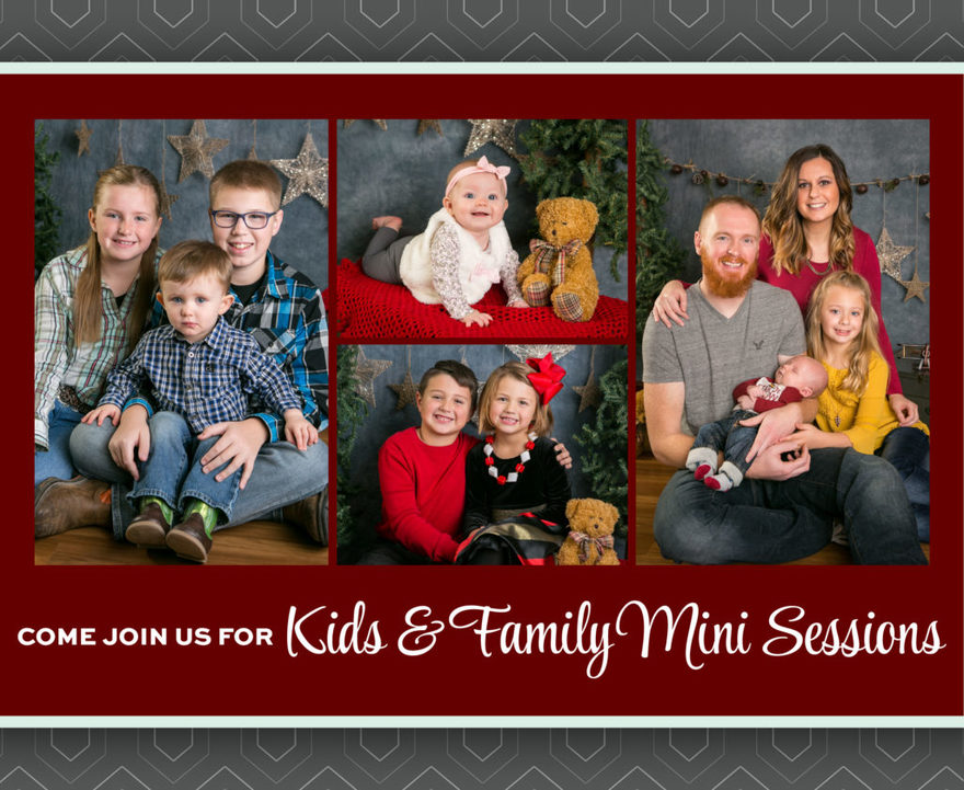 Come join us for holiday mini sessions!